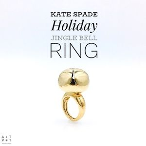 Kate Spade Vintage Holiday Jingle Bell Ring